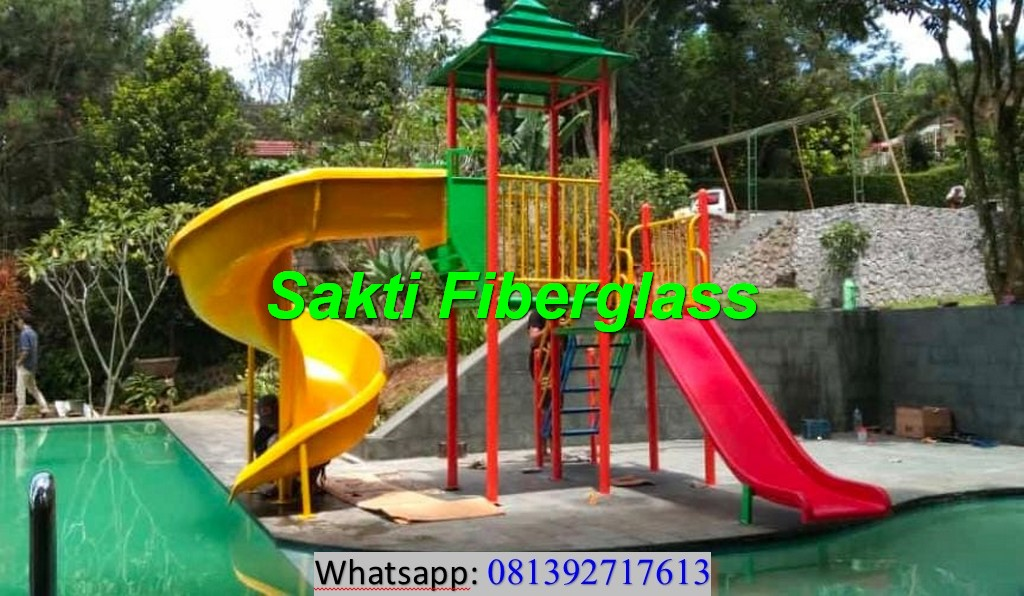 Pengiriman Satu Unit Playground Kolam Renang ke Puncak Bogor dengan sukses