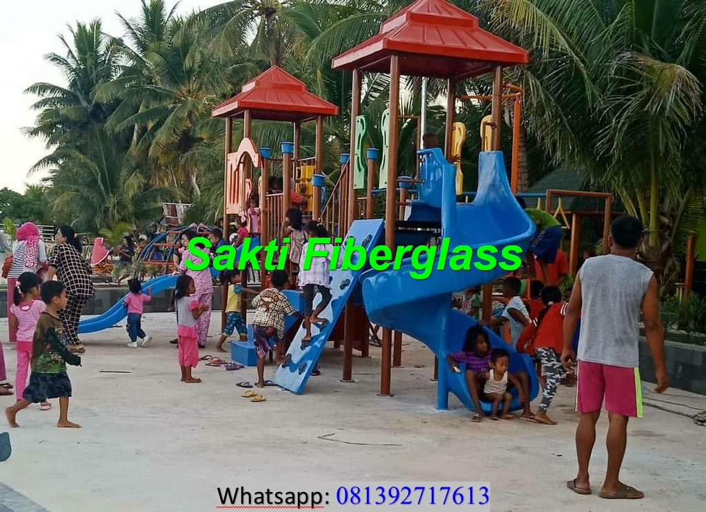kontraktor playground anak taman